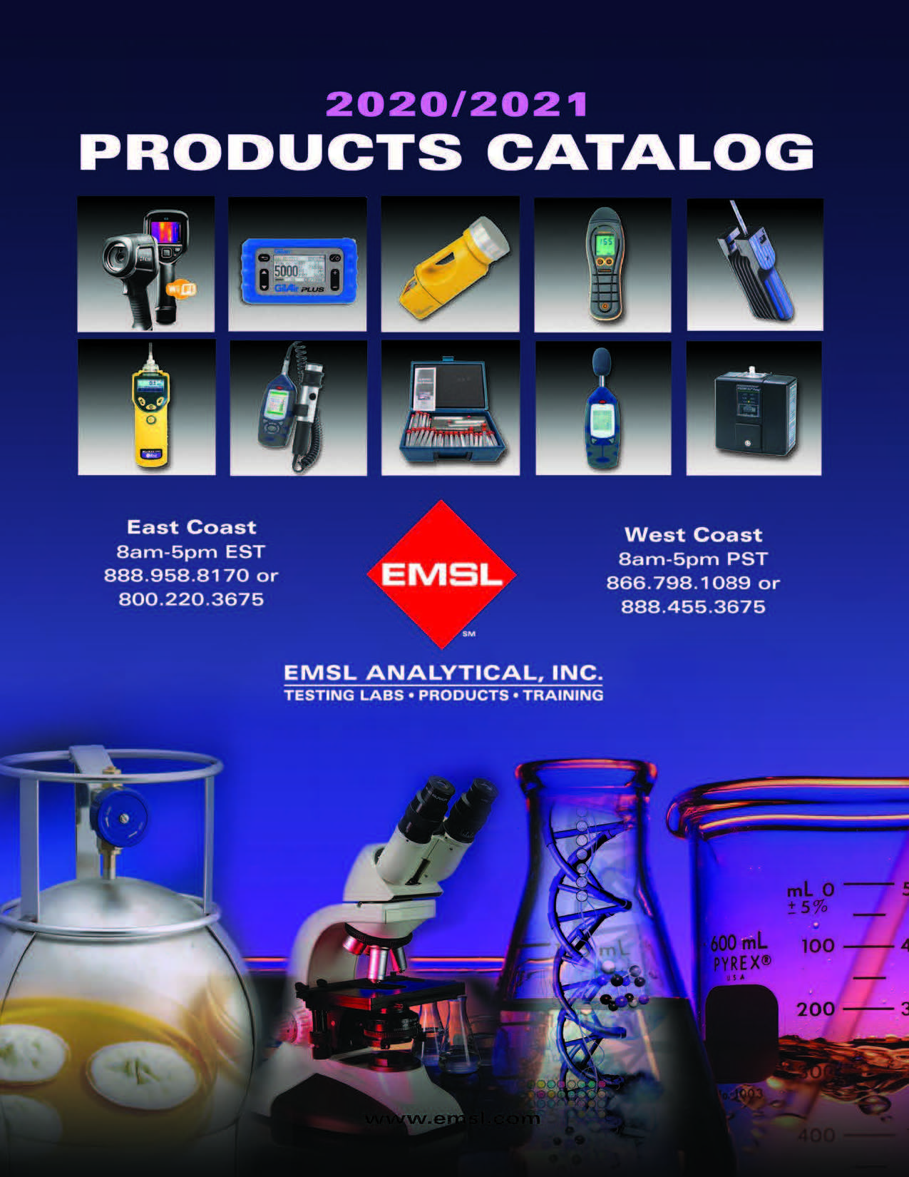 EMSL Products Catalog 2020